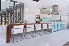 Kitchen Wine Wall | Costa Mesa, Ca | Designer: Ultra Mod Home Concepts