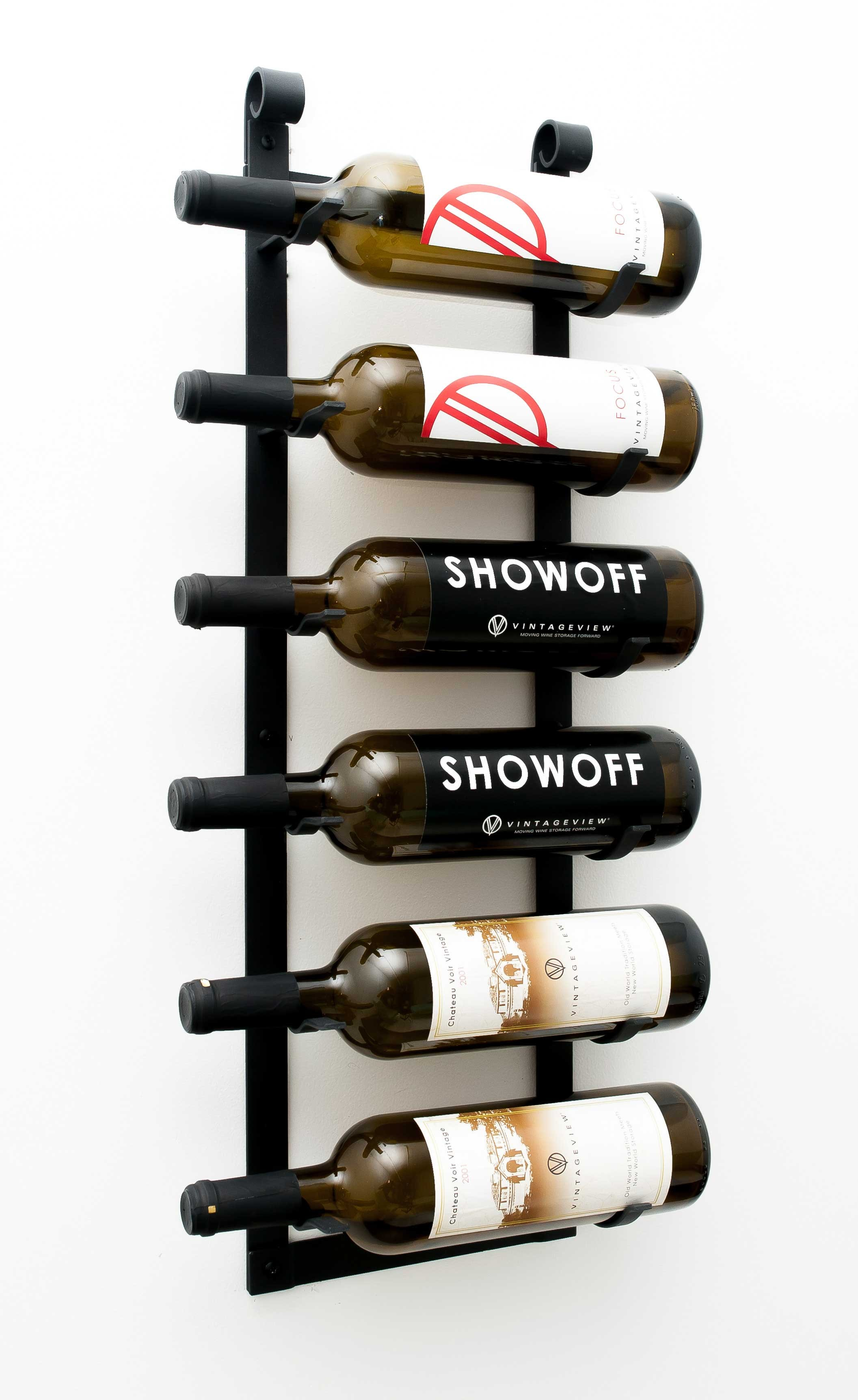 Wall Mounted Metal Wine Racks By Vintageview Wine Storage Systems