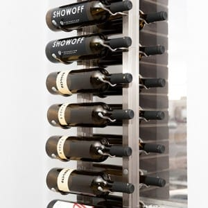 FCF Metal Wine Rack Mount Metal Wine Rack System