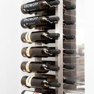 FCF Metal Wine Rack Mount Metal Wine Rack System