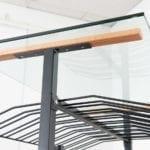 Island Display Rack Shelf Bracket for Retail Wine Racks