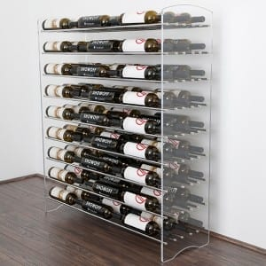 Evolution Metal and Acrylic Wine Tower 4