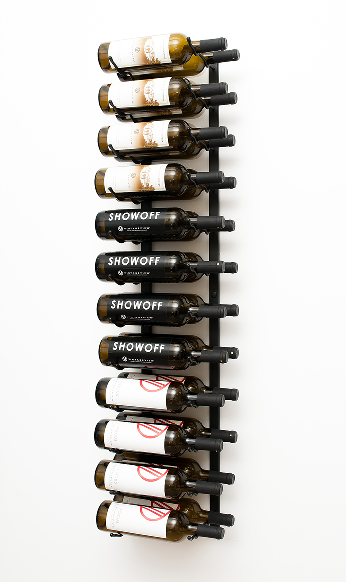Wall Series 4 Metal Wine Rack 12 To 36 Bottles Vintageview
