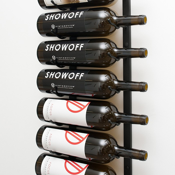bottle metal wine rack 9 to 18 bottles