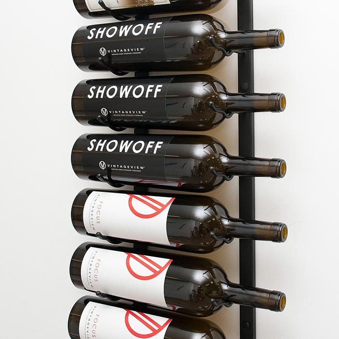 W Series Magnum Champagne Metal Wine Rack 9 To 18 Bottles Vintageview