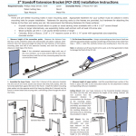 FCF Extension Bracket Interaction