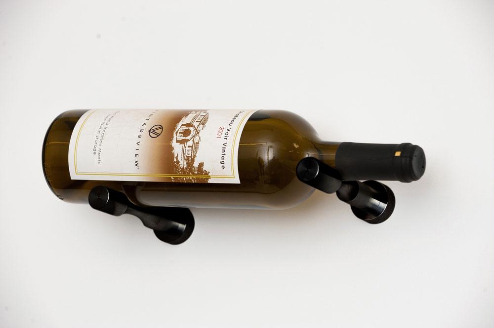 Vino Pins Metal Wine Rack Wall Mounted Wine Racks By Vintageview