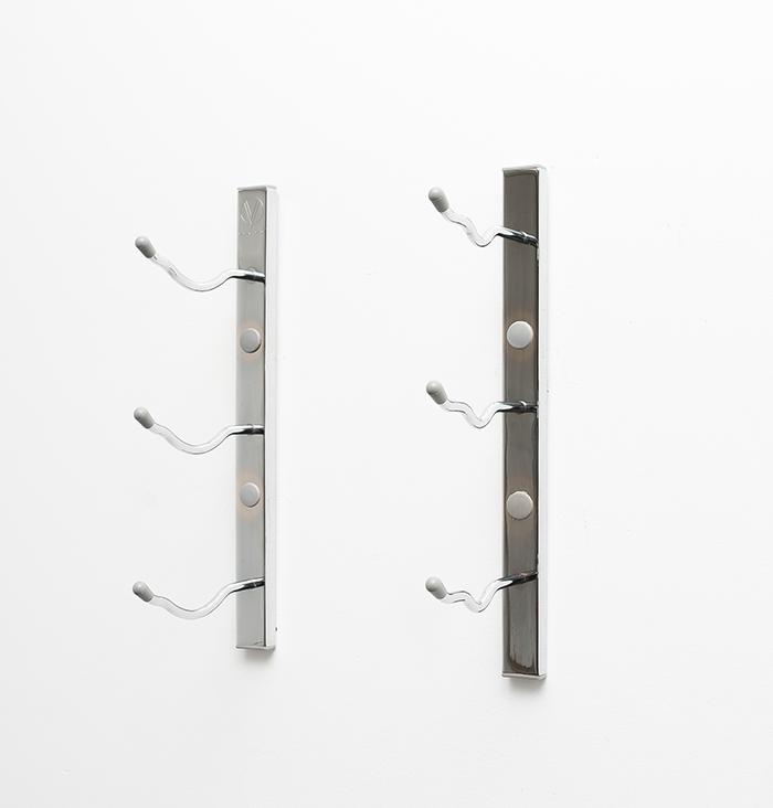 Metal Wall Wine Rack 1 ft wall series metal wine rack (3 to 9 bottles) - vintageview