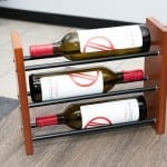 Evolution Tabletop 3-Bottle Wine Rack