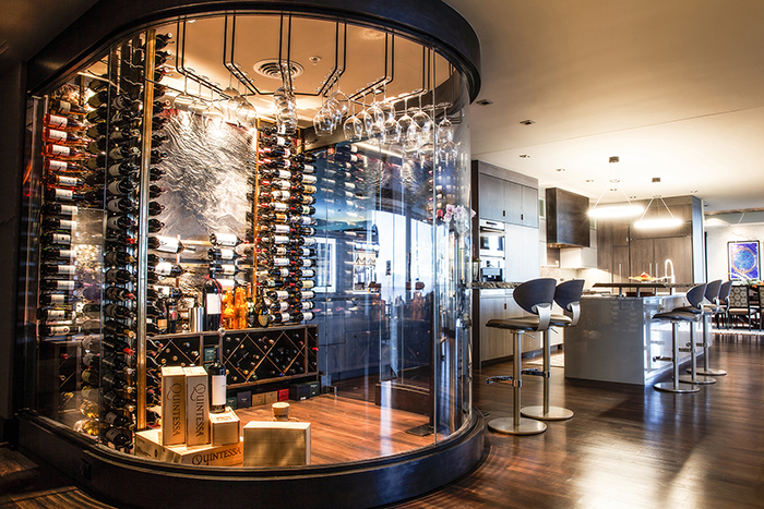 Cooled Climate Controlled Wine Cellar