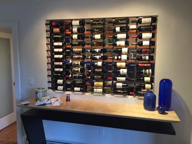 Coffee and Wine Room: Denver-area Wine Display