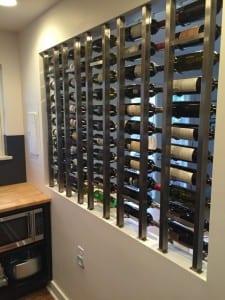 Denver Modern Wine Wall