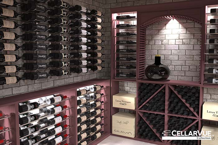 Cellarvue Is The Modular Approach To Metal And Wood Wine