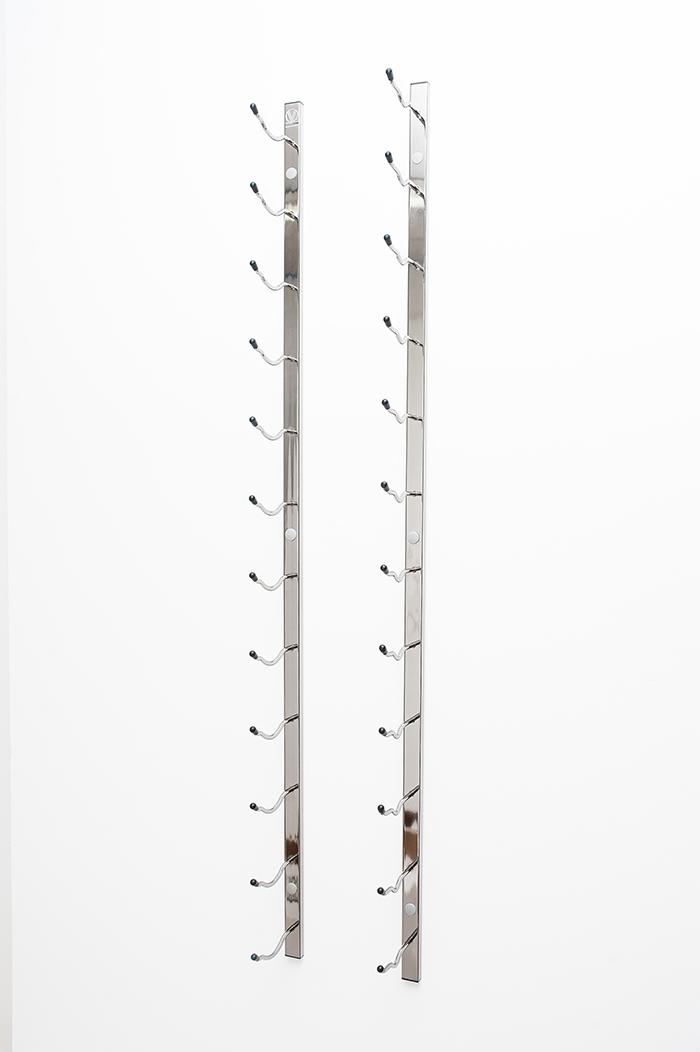 8 Foot Wall Series Metal Wine Rack Kit 24 To 72 Bottles