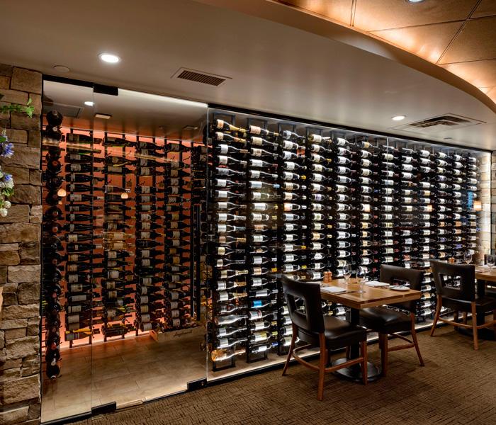 Wine Cellar at Sweet Basil Vail