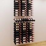 W Series Presentation Row Wine Rack Kit in Chrome