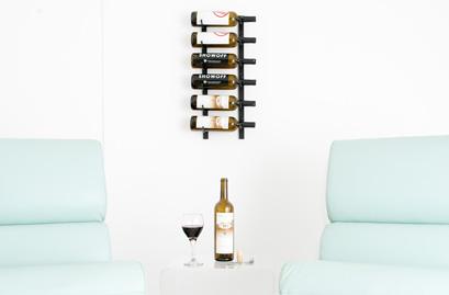 HBlue  Grouse Metal Wine Racks