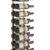 W Series 3′ Wall Mounted Metal Wine Rack (9 to 27 bottles)