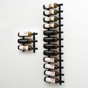 W Series 5, 15-bottle wine rack kit in Satin Black Finish