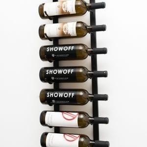 3 ft Wall Series Metal Wine Rack 9-Bottle