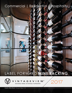 Metal Modern Wine Rack Catalog Vintage View
