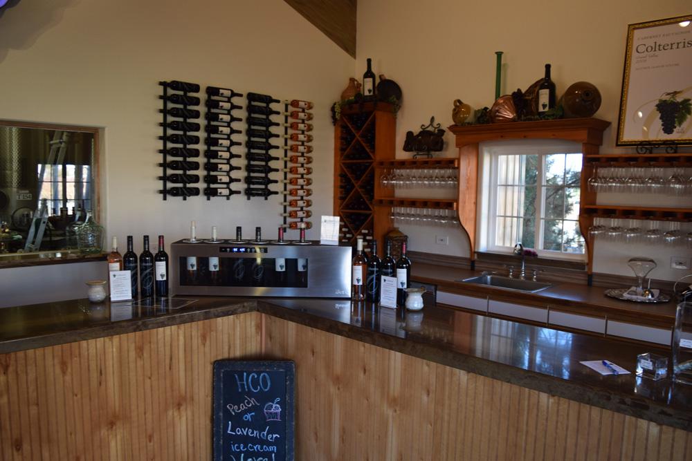 Colterris Wines Tasting Room Colorado Palisade