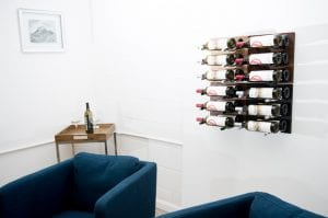 Label Out Grain & Rod Metal and Wood Wine Rack Panel Kit