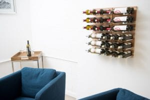 Au Naturel Grain & Rod Metal and Wood Wine Rack Panel Kit