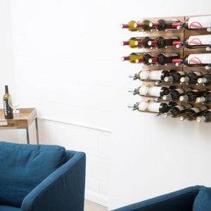 Au Naturel Grain & Rod Metal and Wood Wine Rack Panel Kit