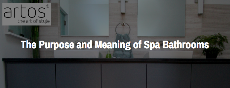 CEU Course: The Purpose and Meaning of Spa Bathrooms