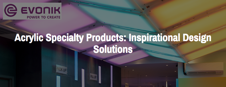 CEU Course: Acrylic Specialty Products: Inspirational Design Solutions