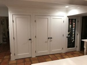 Custom Wine Cellar Closet Conversion DIY