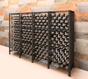 Case & Crate Bin Short 192-Bottle Wine Storage Unit