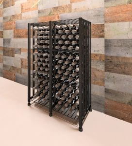 Case & Crate Bin Short 96-Bottle Wine Storage Unit
