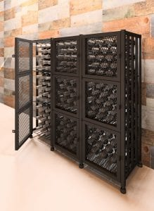 Case & Crate Locker Short 144-Bottle Kit