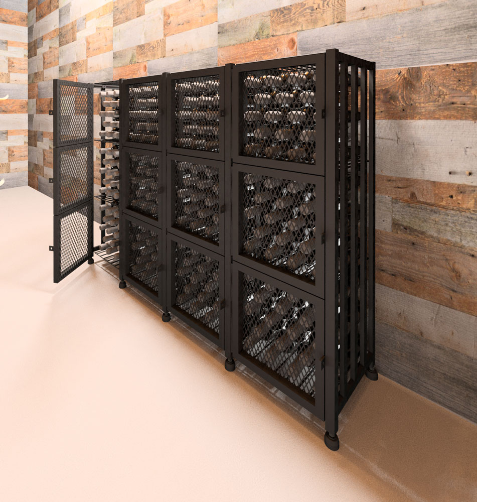 Case & Crate Locker Short 192-Bottle Kit