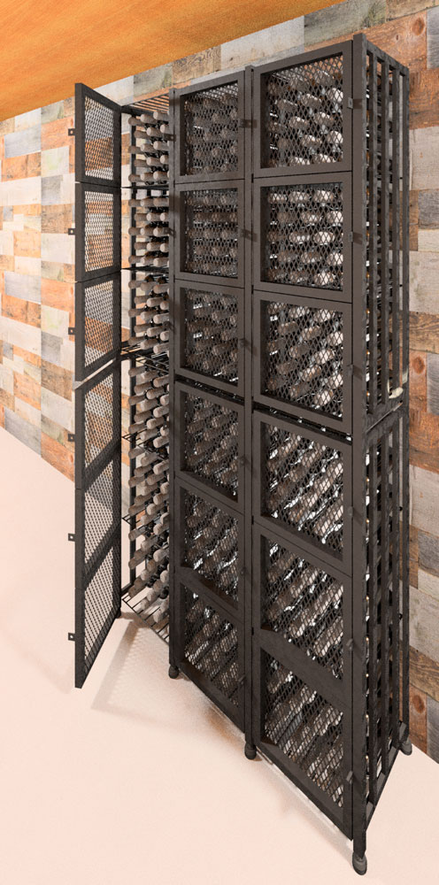 Case Amp Crate Locker Tall 96 To 384 Bottle Wine Storage