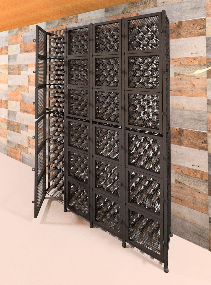 Case & Crate Locker Tall 384-Bottle Wine Storage Kit