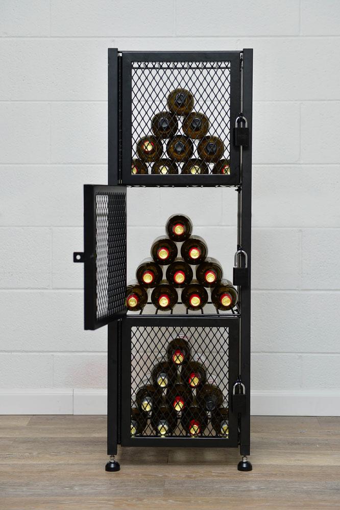 Case & Crate Locker Short 48 Bottle Wine Storage Unit