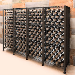Case & Crate Bin Short 192-Bottle Wine Storage Unit