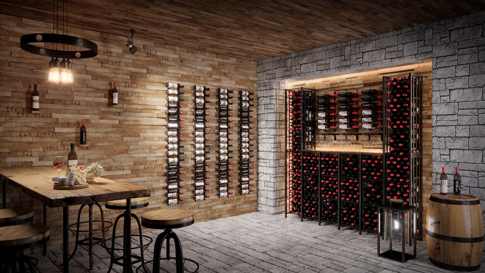 Case & Crate Wine Bins or Lockers for Homes