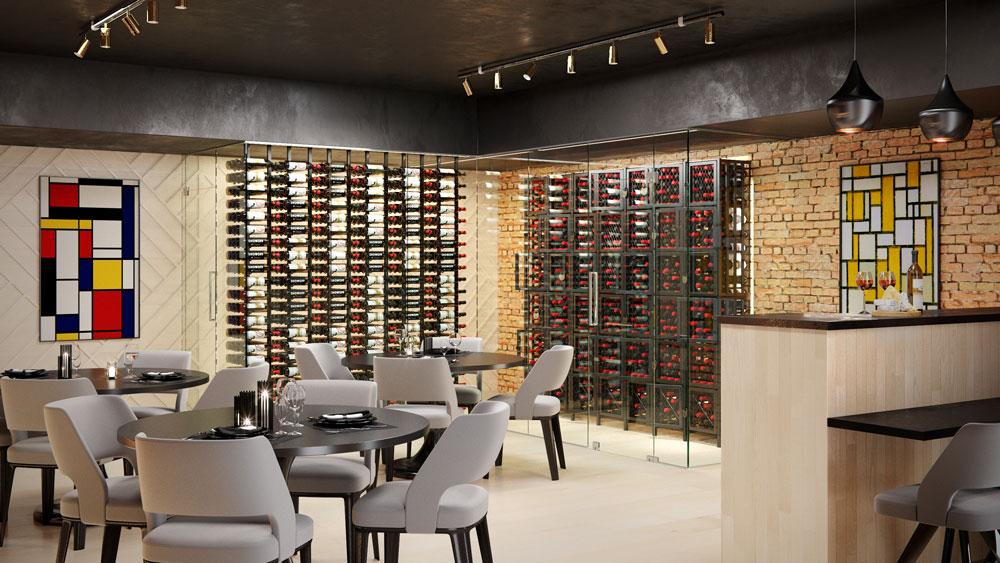 Sensational Case Crate Locker Tall 96 To 384 Bottle Wine Storage Kit Beutiful Home Inspiration Xortanetmahrainfo