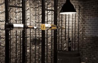 VintageView Metal Wine Series