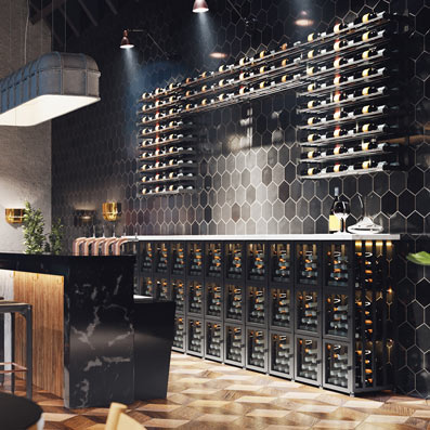 Wine lockers can help restaurants retain customers with wine club programs