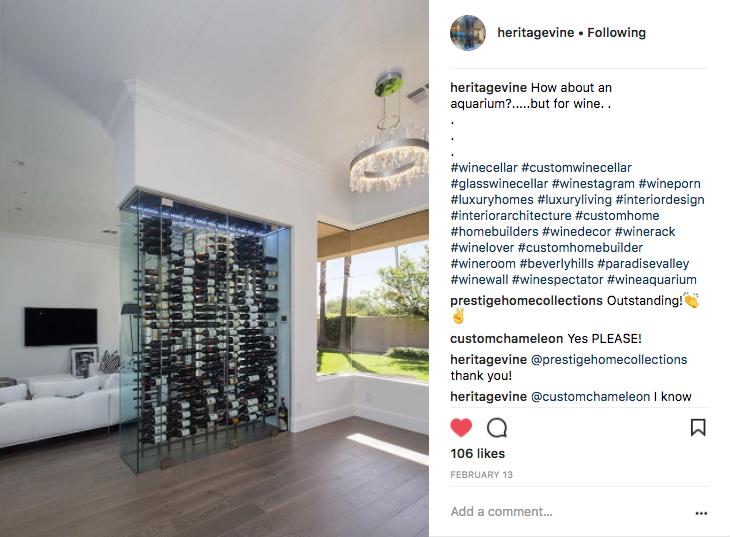 Heritage Vine Custom Wine Cellars