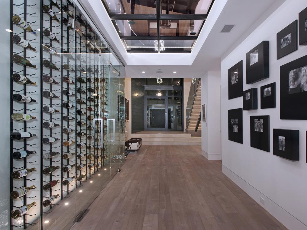 Evening Canyon Road Newport Beach Wine Cellar