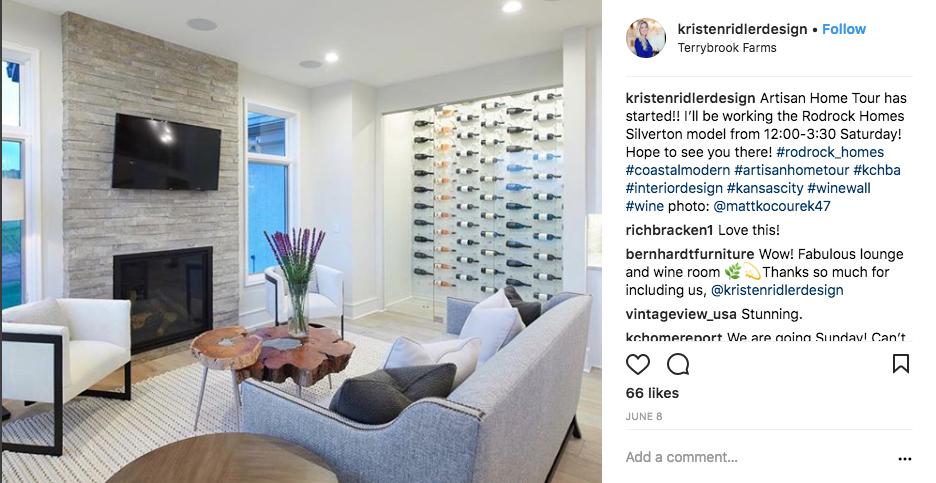 Kristen Ridler Design Wine Cellars