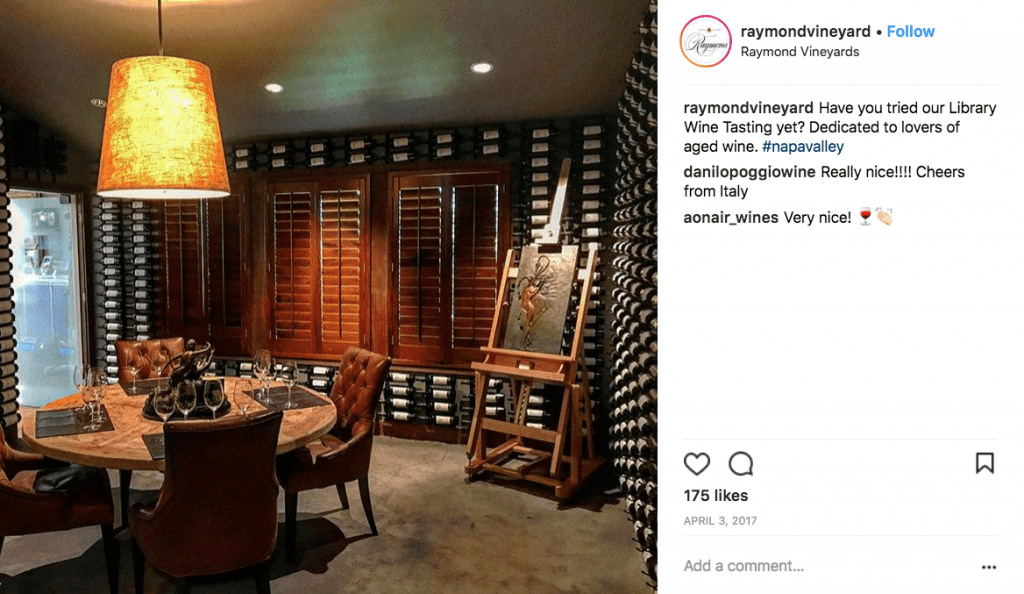 Raymond Vineyards Napa Valley Library Room