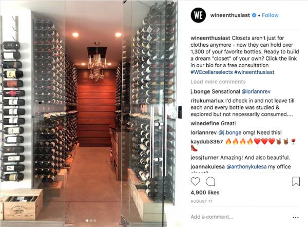 Wine Enthusiast Wine Closet