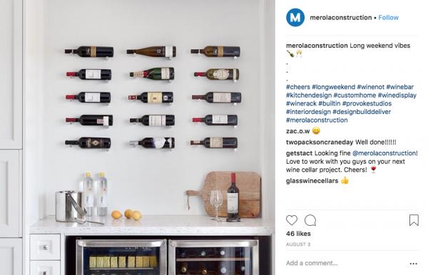Merola Construction Vino Pins